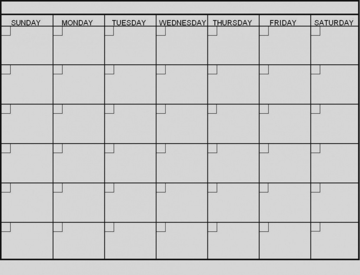 Latest Blank 6 Week Calendar Template Printable 2 Planner-Blank 6 Week Calendar Template