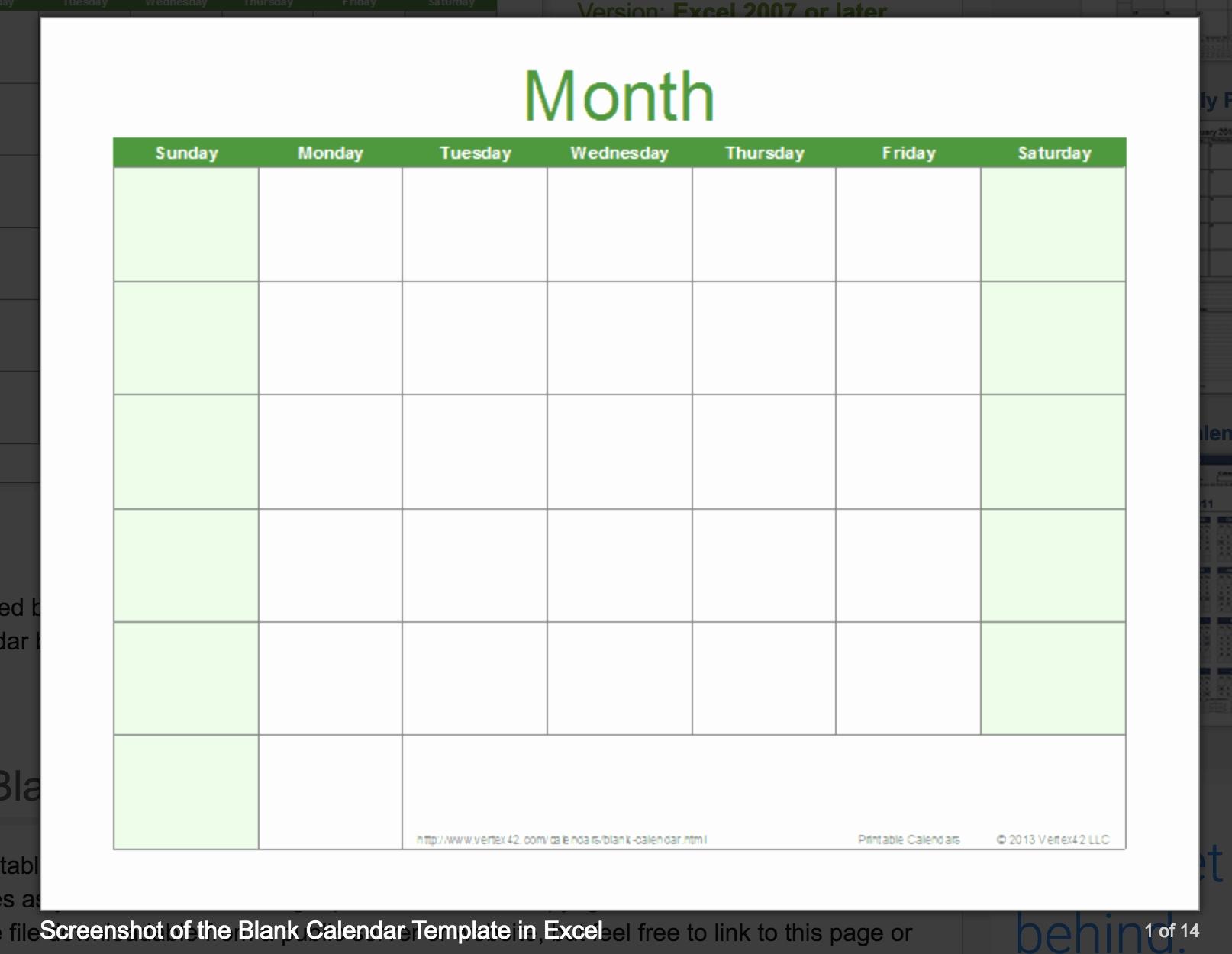 Lovely 46 Sample Excel Calendar Templates Free 2019 | Tumblr-Calendar Templates By Vertex42.com