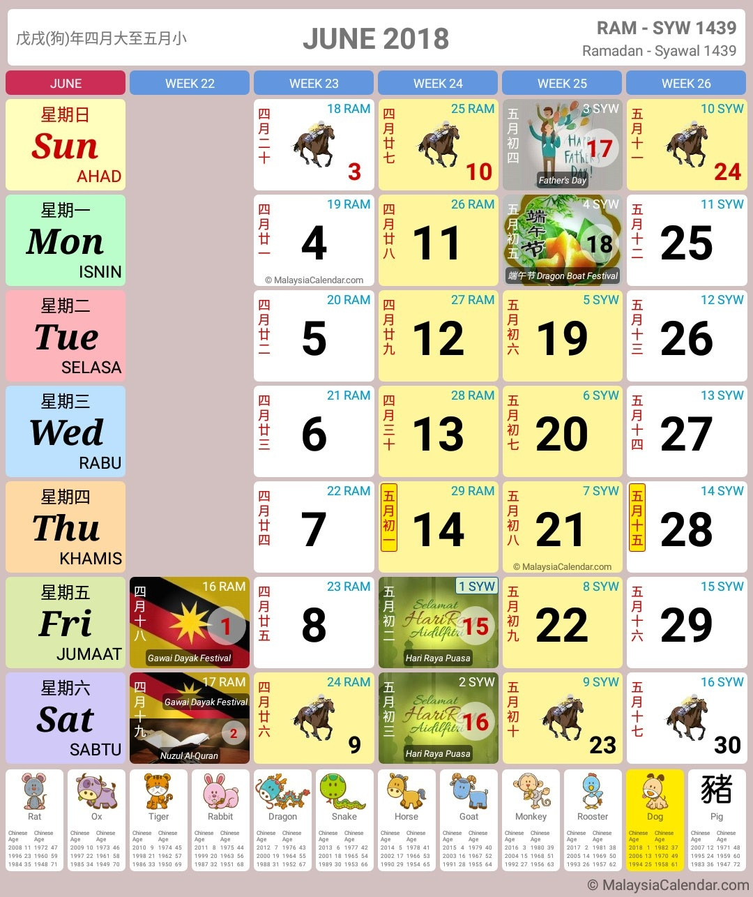 Malaysia Calendar Year 2018 (School Holiday) - Malaysia Calendar-School Holidays 2020 Malaysia