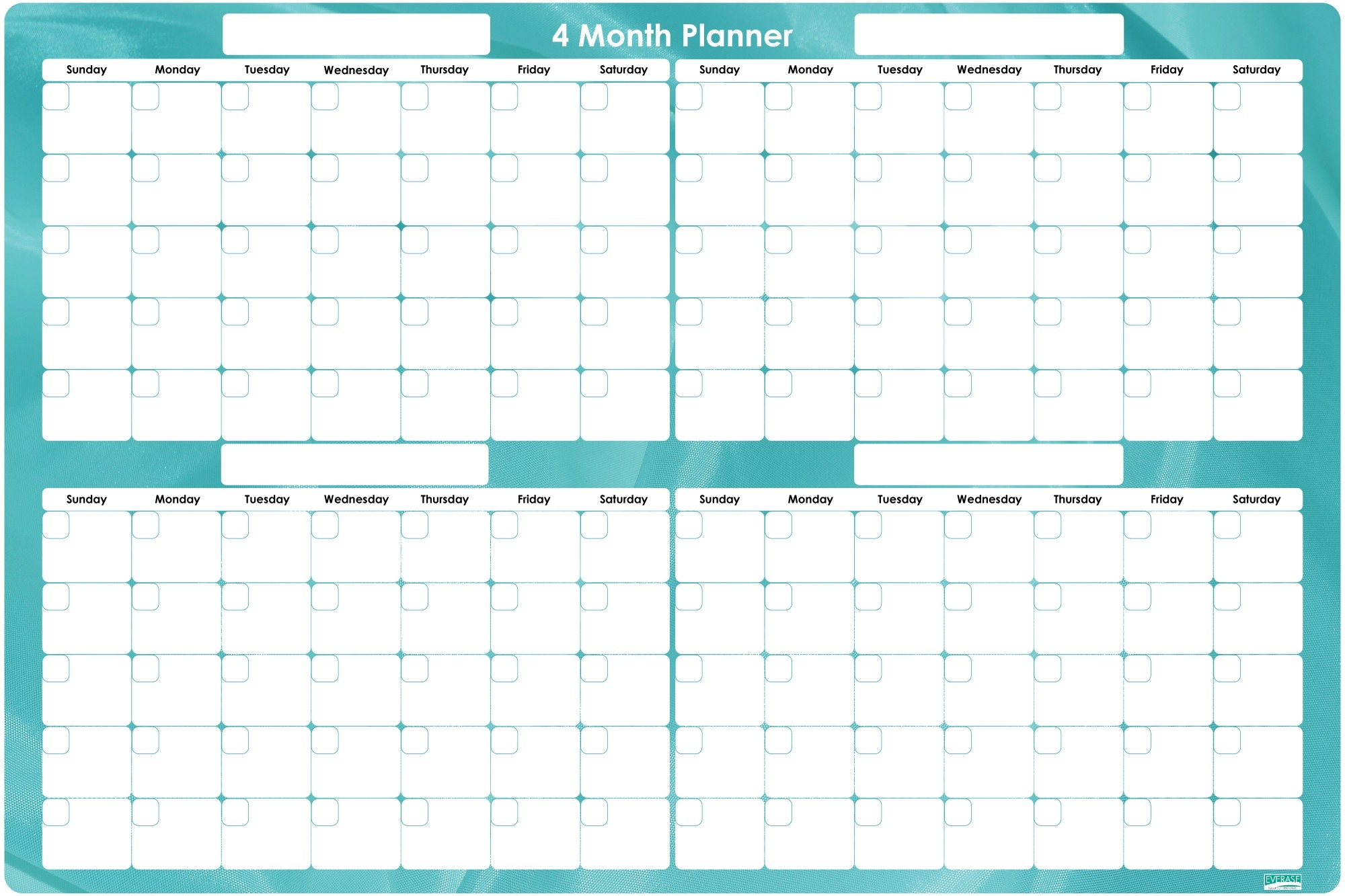 Month Planner - Parfu.kaptanband.co-4 Month Planner Template