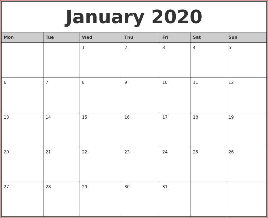 Month To Month Calendar Printable | Ten Wall Calendar-2020 Monthly Calendars With Time Slots