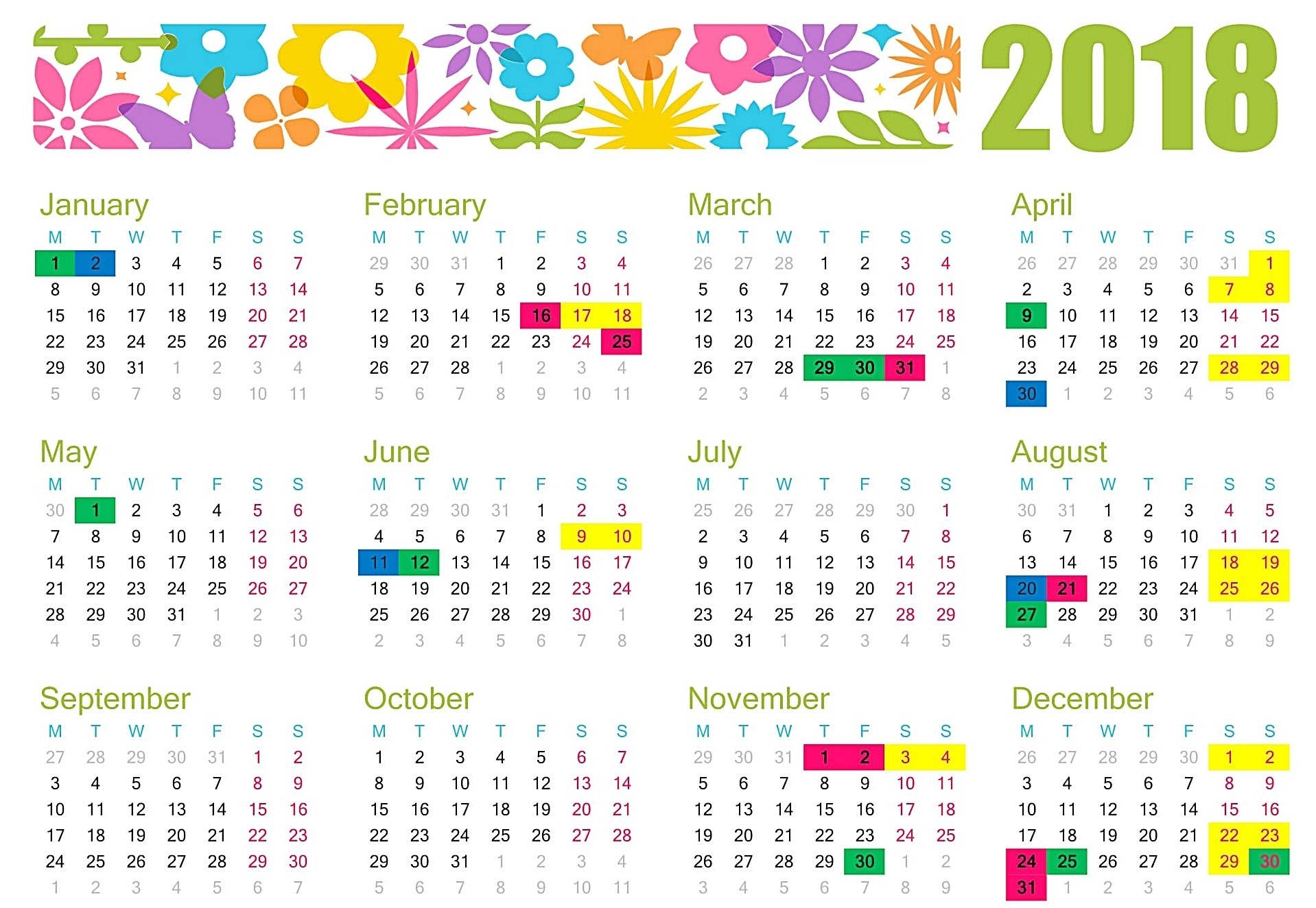 November 2018 Holidays Philippines - Free August 2019-Holidays In Philippines Printable