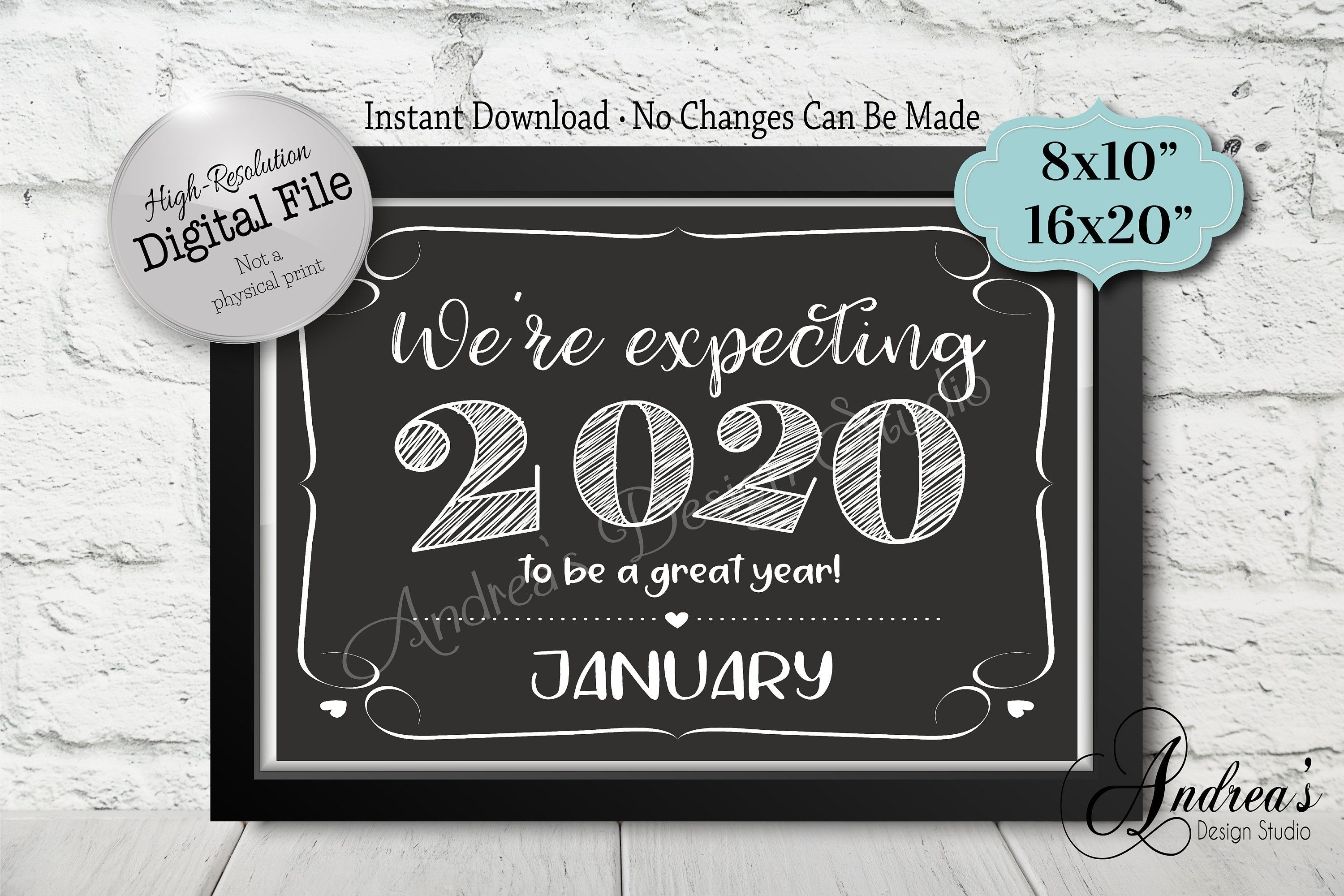 Pin On Bumblebee-January 2020 Calendar Baby Announcement
