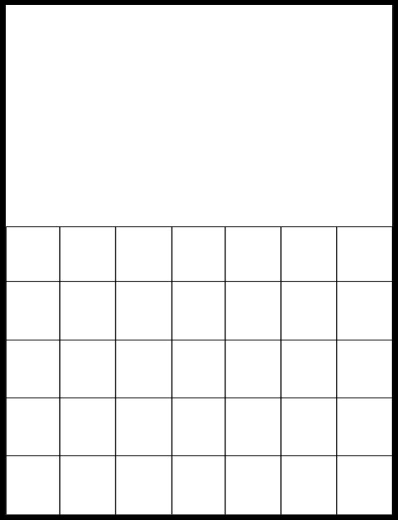 Printable Blank Calendar Grid | Calendar | Printable Blank-Free Printable Blank Calendar Grid