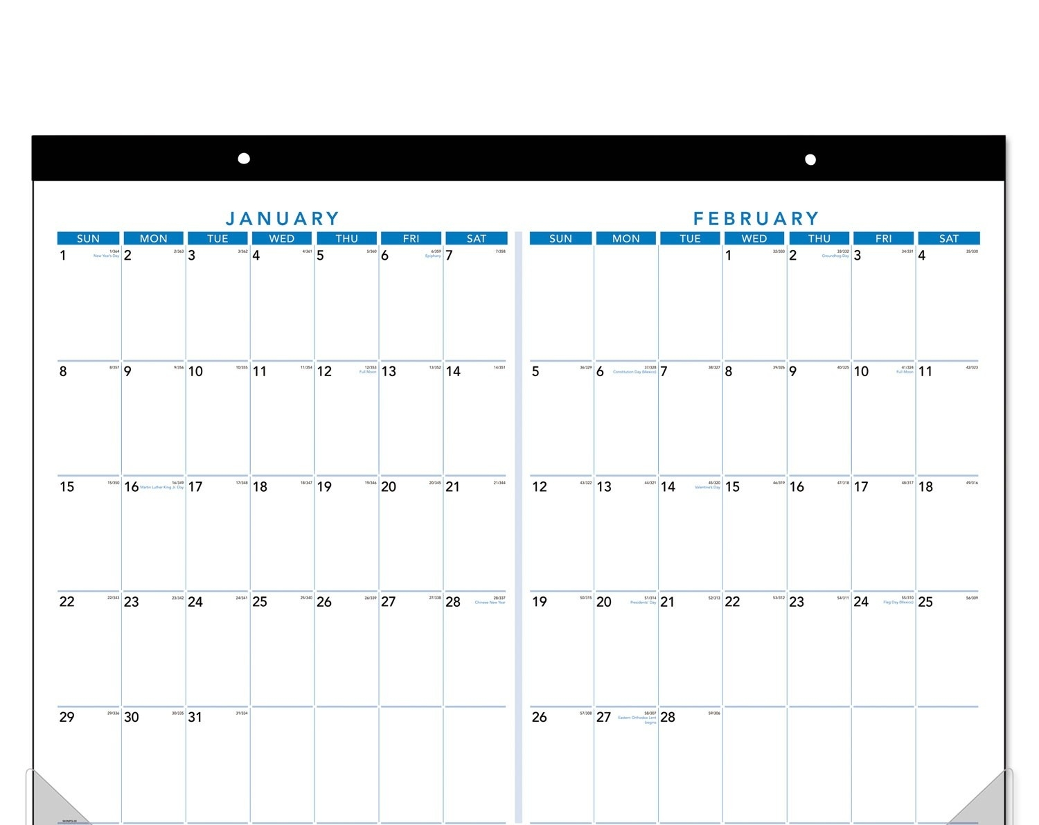 Printable Calendar 2018 Two Months Per Page | Printable-2 Month Calendar Template Printable