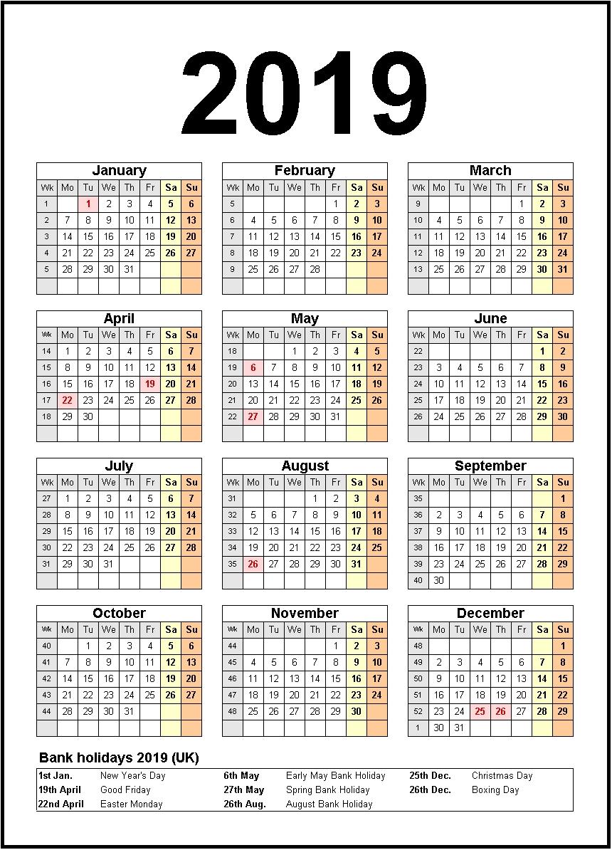 Printable Calendar 2019 United States Holidays   Monthly-Printable 3 Month Calendar With Us Holidays