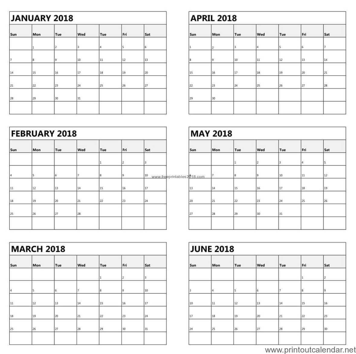 Printable Calendar 6 Month 2019 | Calendar Design Ideas-Print Blank Calendar 6 Months Per Page