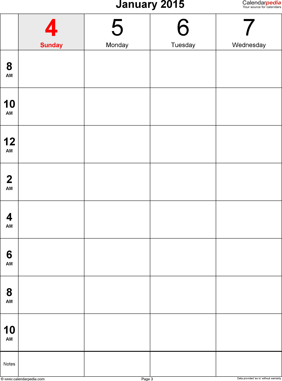 Printable Calendar 8 X 11 | Printable Calendar 2019-Excel Calendar Template 8.5 X 11