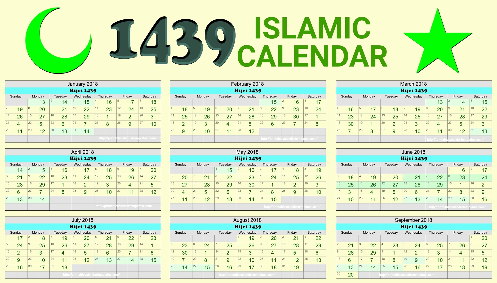 Printable Calendar Hijri | Printable Calendar 2019 Within-January 2020 Hijri Calendar