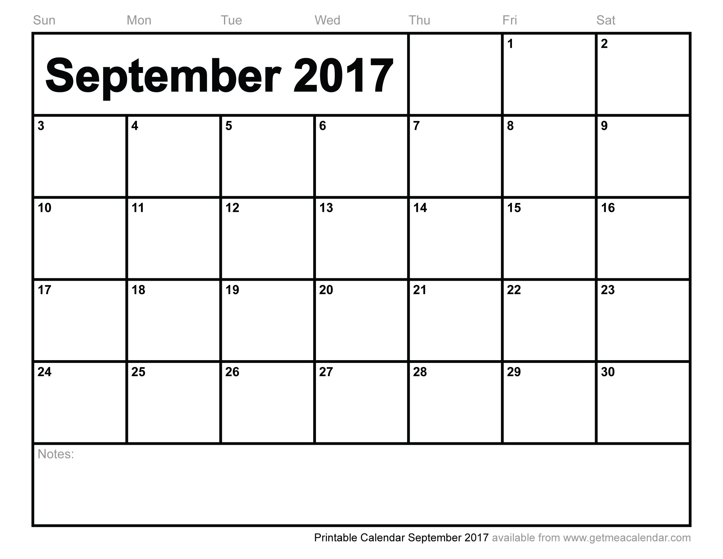 Printable Calendar September 2017-Blank Printable Catholic Calender September