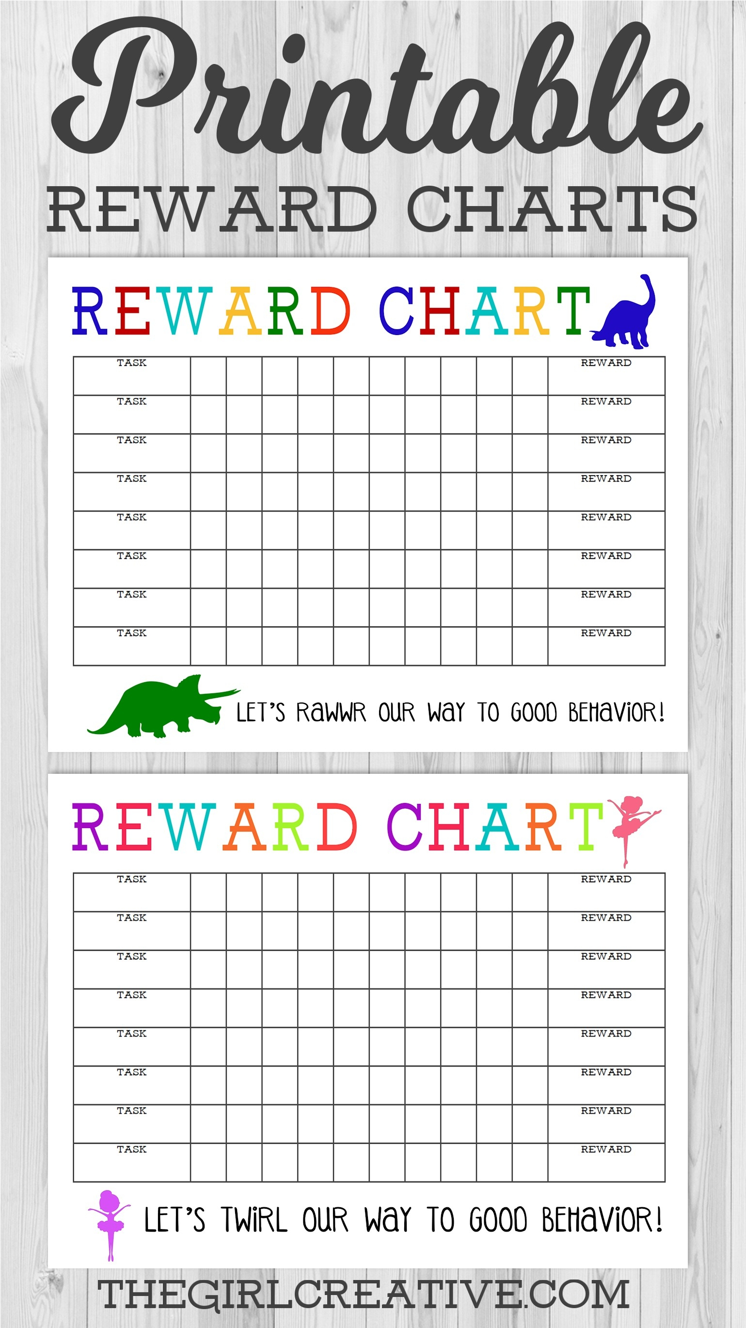 Printable Reward Charts For Kids | Room Surf-Editable Monthly Behavior Chart