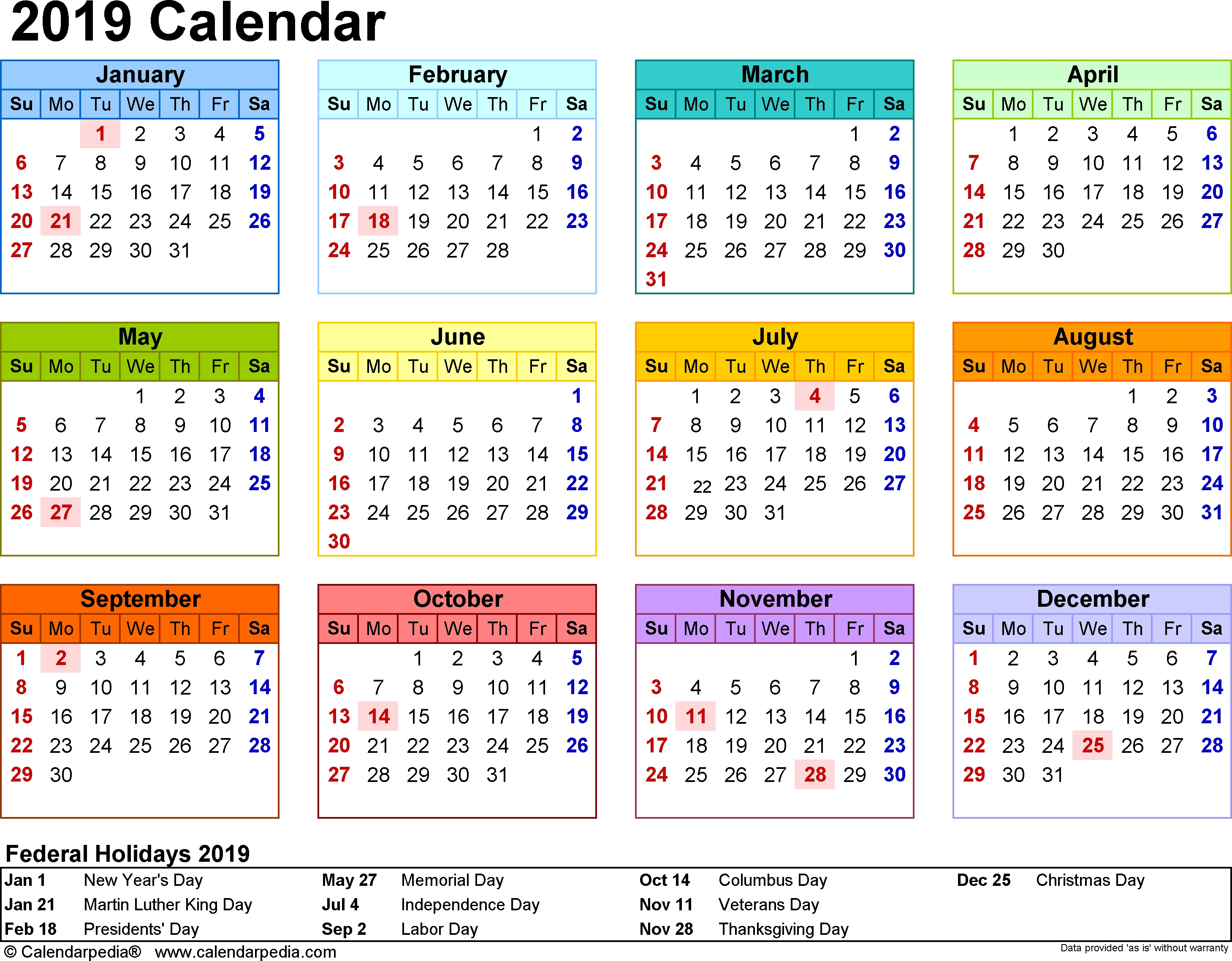 Printable School Calendar 2019 South Africa | Printable-Calendar 2020 With Holidays South Africa