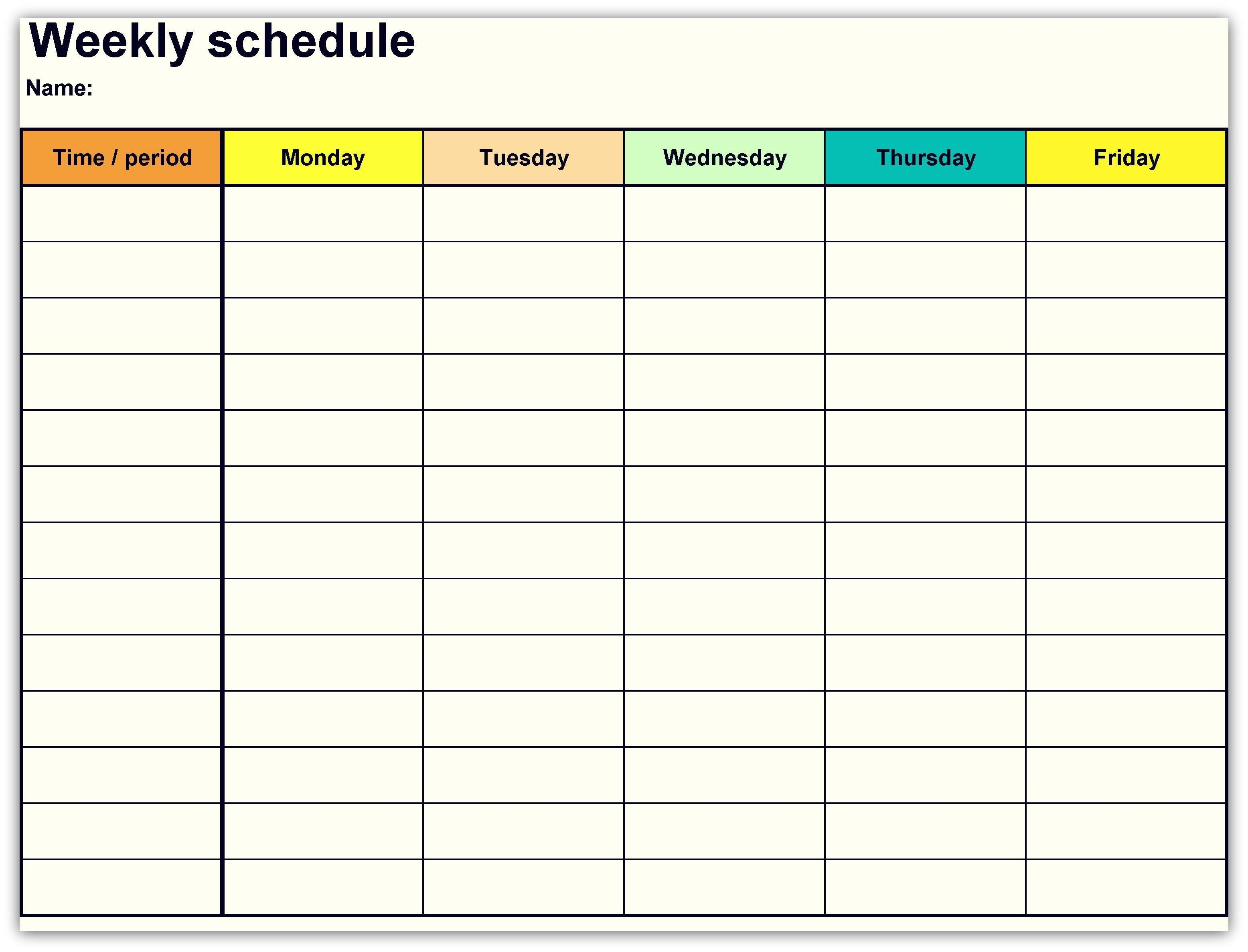 Printable Weekly Calendar Template Unique New Google Docs-Free Google Drive Planner Template
