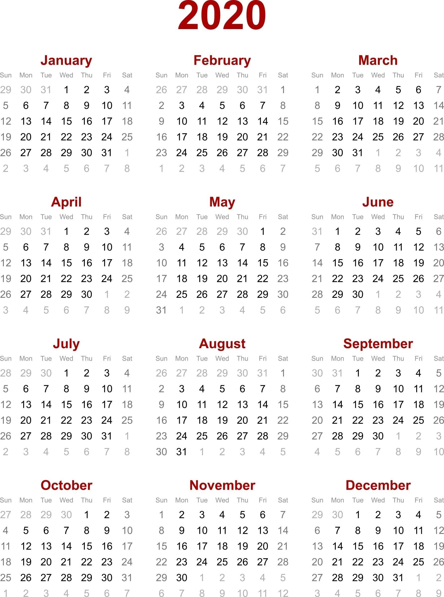 Remarkable 2020 Calendar Singapore Holiday • Printable Blank-January 2020 Calendar Singapore