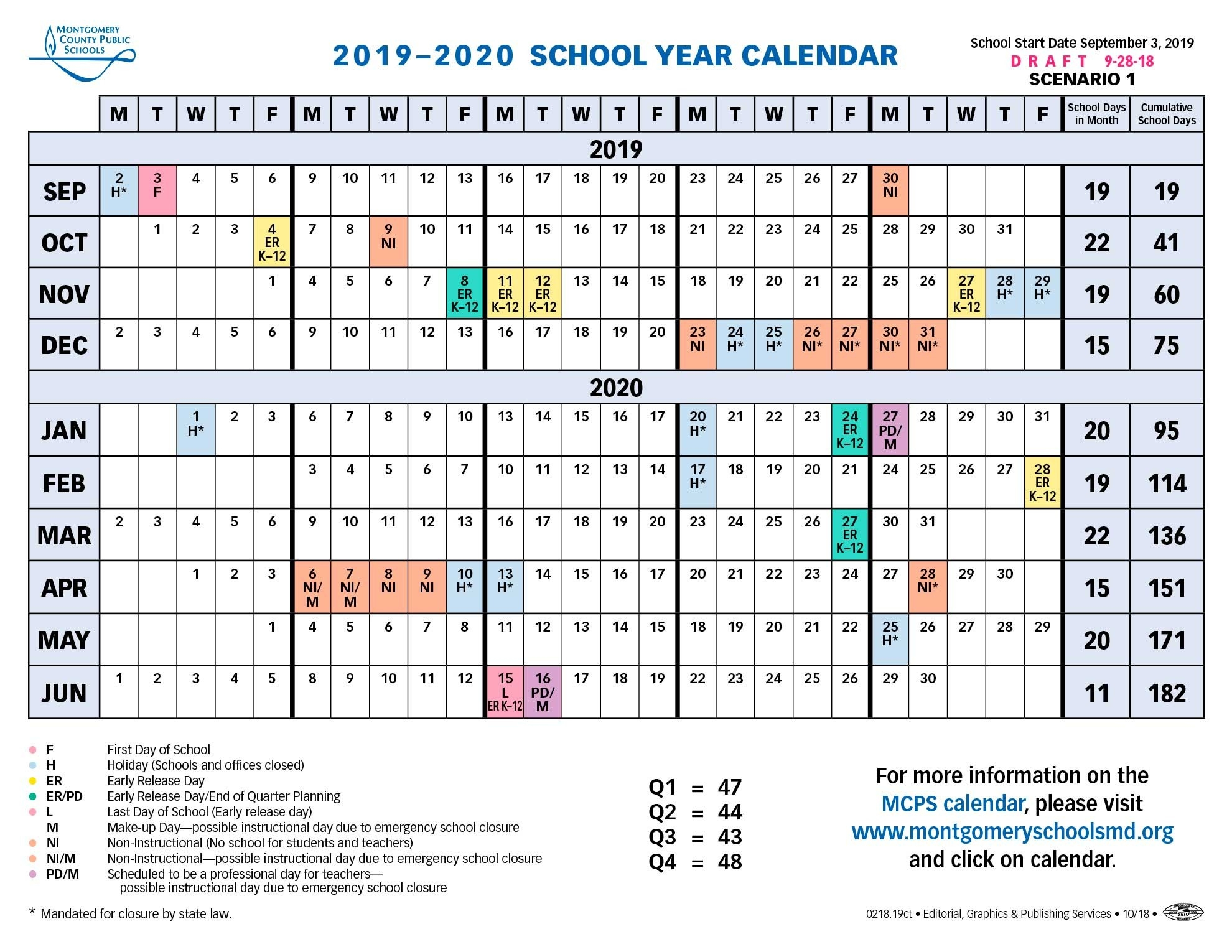 School Board Approves Longer Spring Break For 2019-2020-Calendar With Jewish Holidays 2020