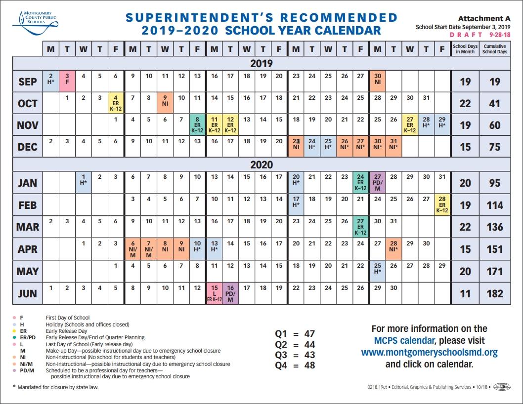 School Board To Vote On 2019-2020 School Year Calendar-Calendar Of Jewish Holidays