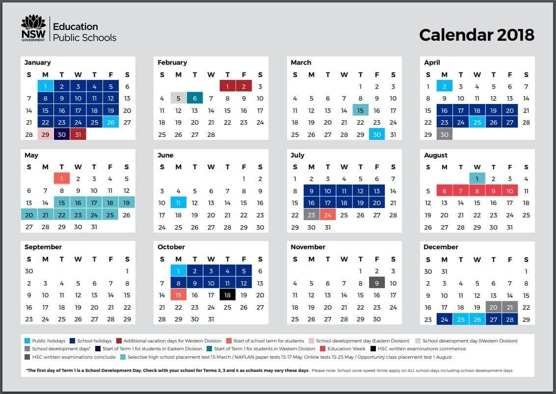 School Holidays – Kidabout-January 2020 Calendar Nsw