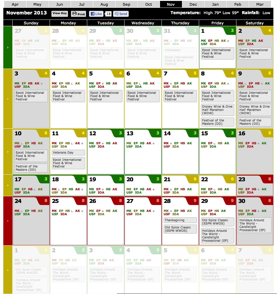 Search-Extra Magic Hours Calendar January 2020