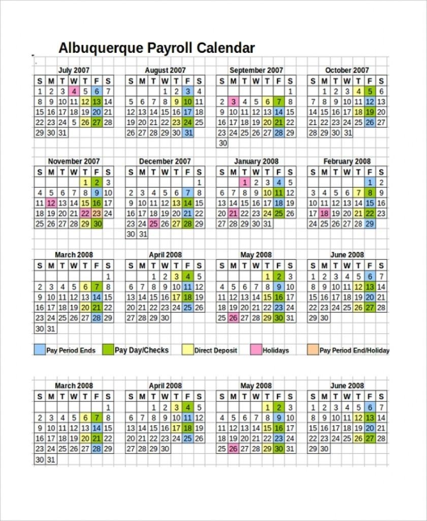 Semi Monthly Payroll Calendar Template 2018 | Payroll Calendars-Template For Semi Monthly Payroll Calendar 2020