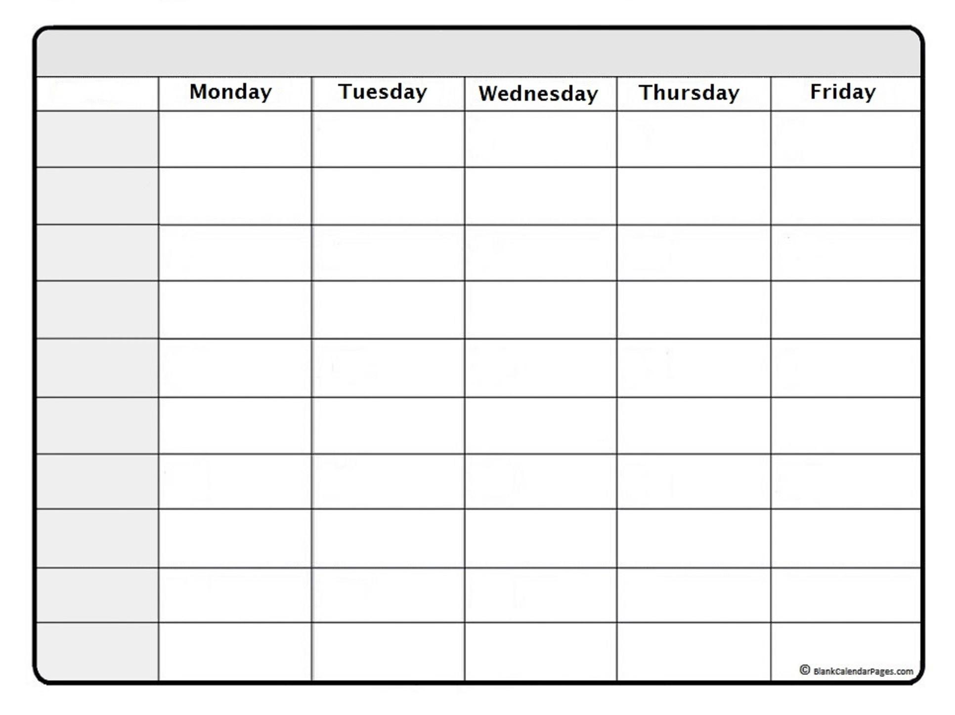 September 2019 Weekly Calendar | September 2019 Weekly-One Week Calendar Printable Blank
