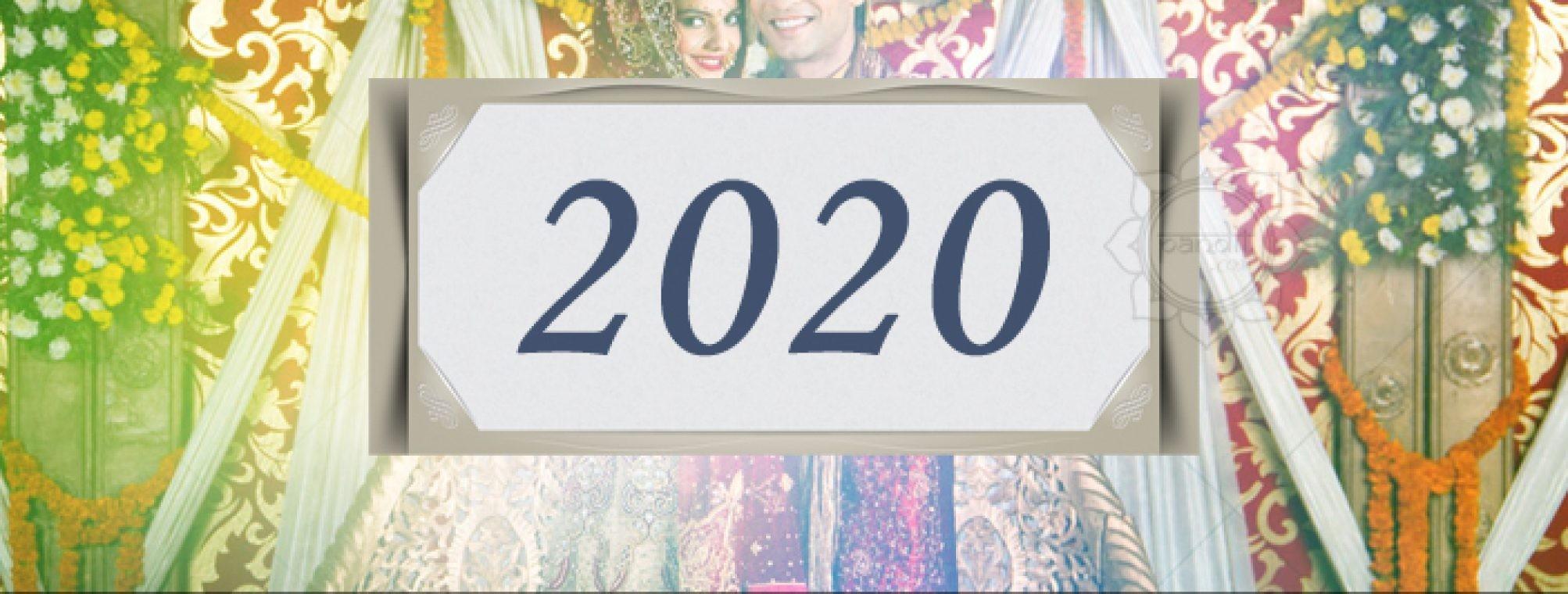 Shubh Muhurat For Marriage Ceremony 2020 - Pandit-January 2020 Calendar Vivah Muhurat