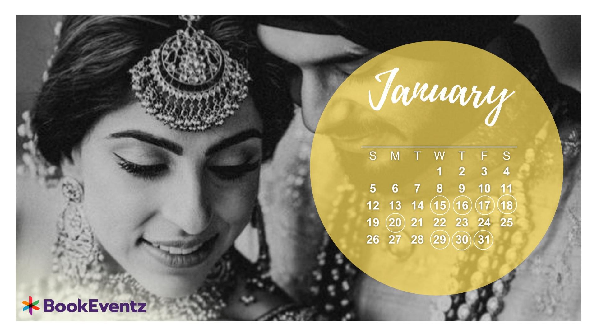 Shubh Muhurat Wedding Dates For Hindu Marriage In 2020 |-January 2020 Calendar Vivah Muhurat