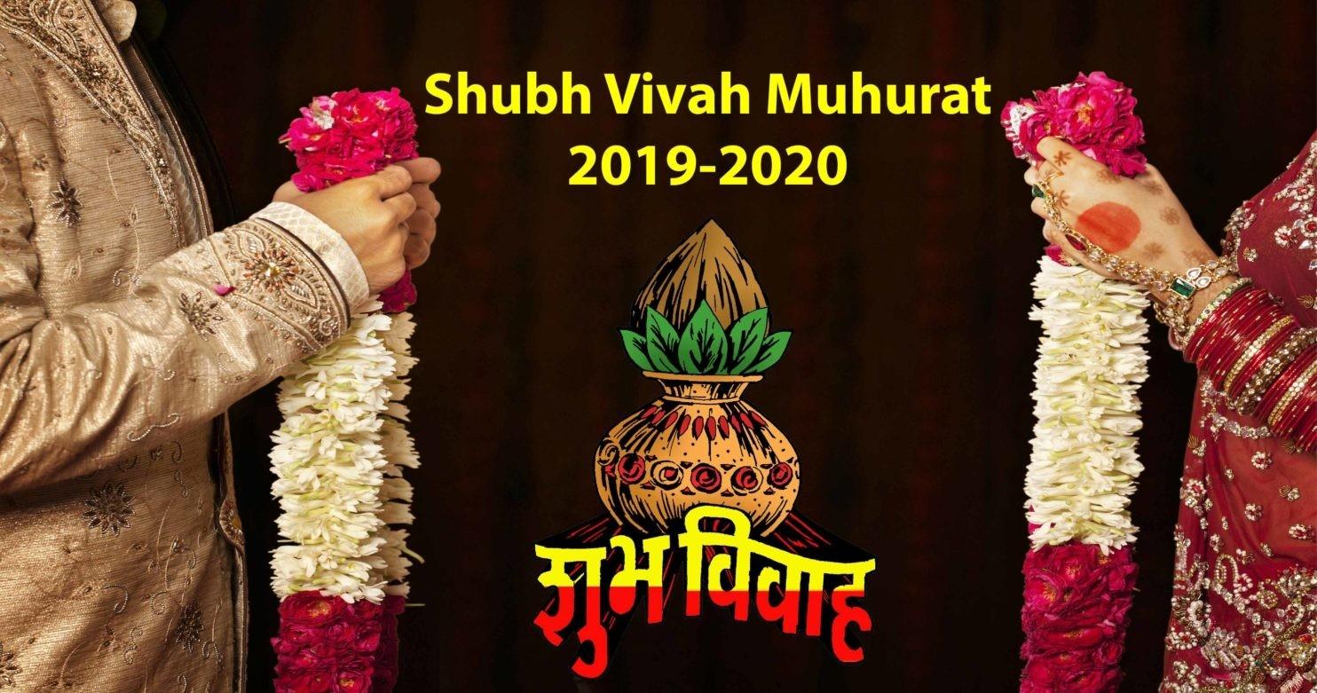 Shubh Vivah Muhurat - Hindu Wedding Dates In 2019-2020-January 2020 Calendar Vivah Muhurat