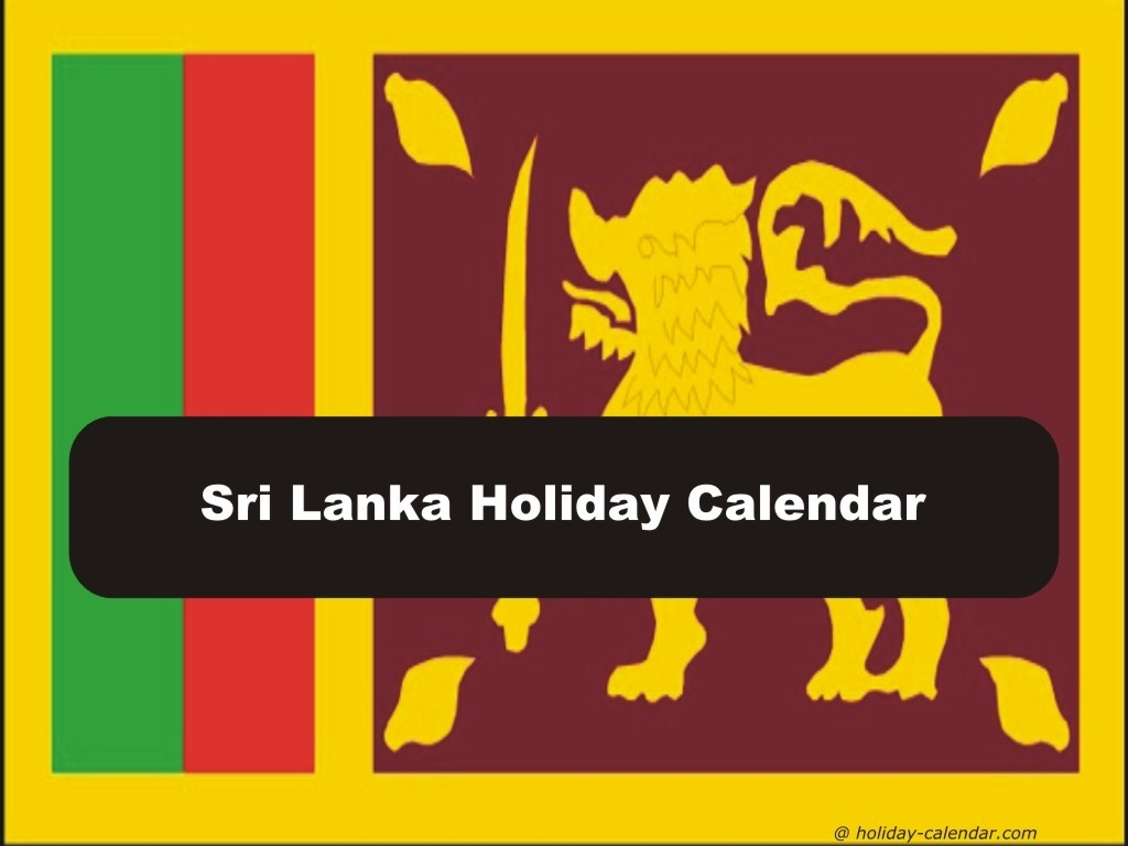 Sri Lanka 2019 / 2020 Holiday Calendar-Mercantile Holidays In 2020 Sri Lanka