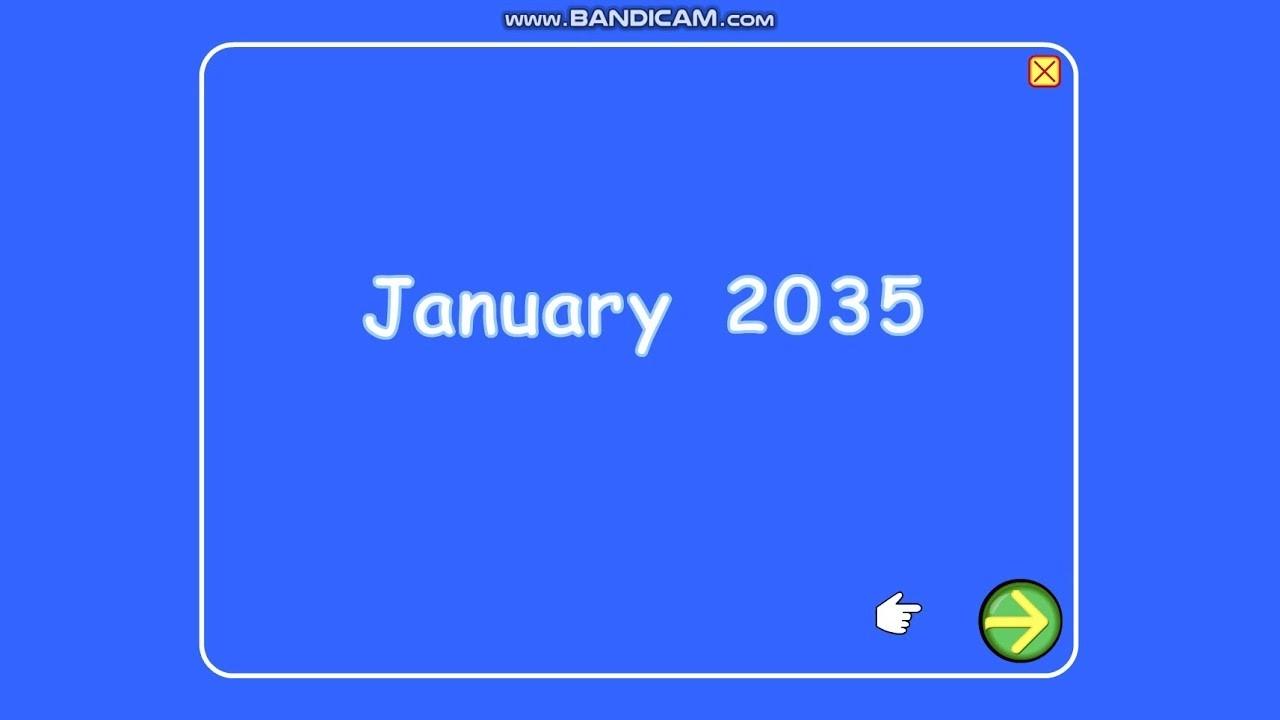 Starfall Calendar January 1, 2035-Starfall Calendar January 2020
