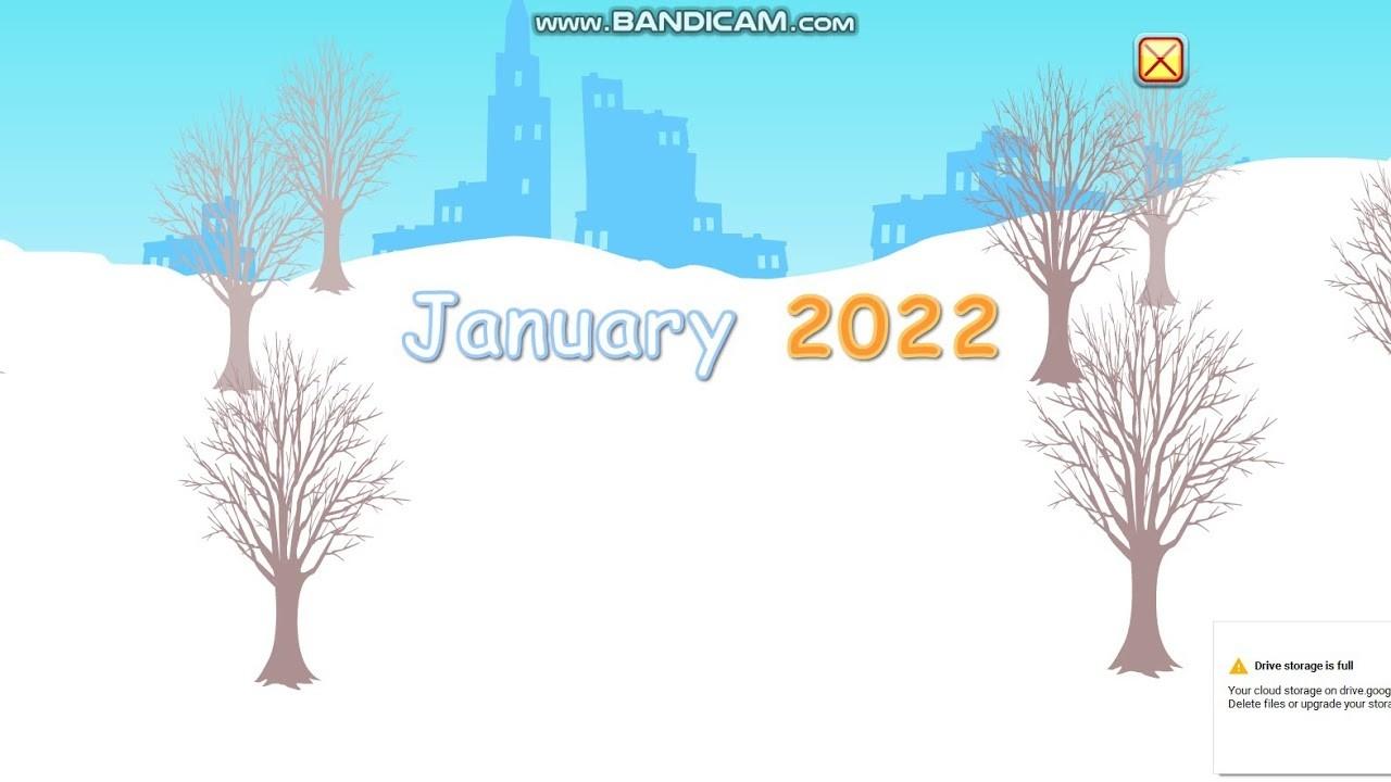 Starfall Calendar January 2, 2022-Starfall Calendar January 2020