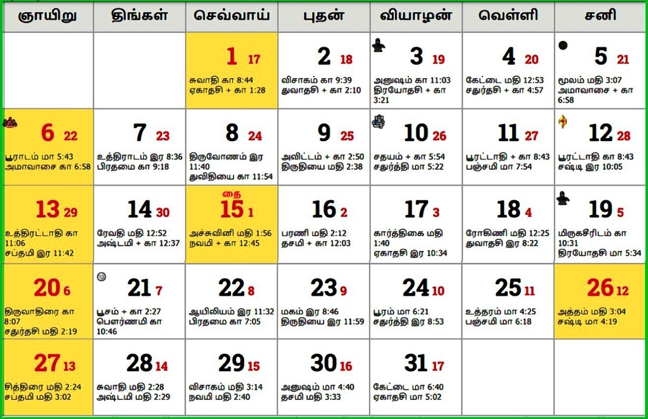 Tamil Calendar 2019 January Muhurtham | Calendar Template-January 2020 Calendar Muhurtham Dates