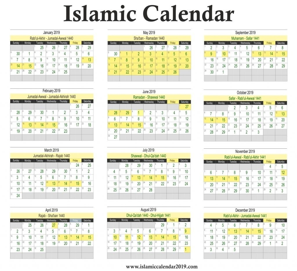 Urdu Calendar March 2019 | Calendar Format Example::march-January 2020 Hijri Calendar