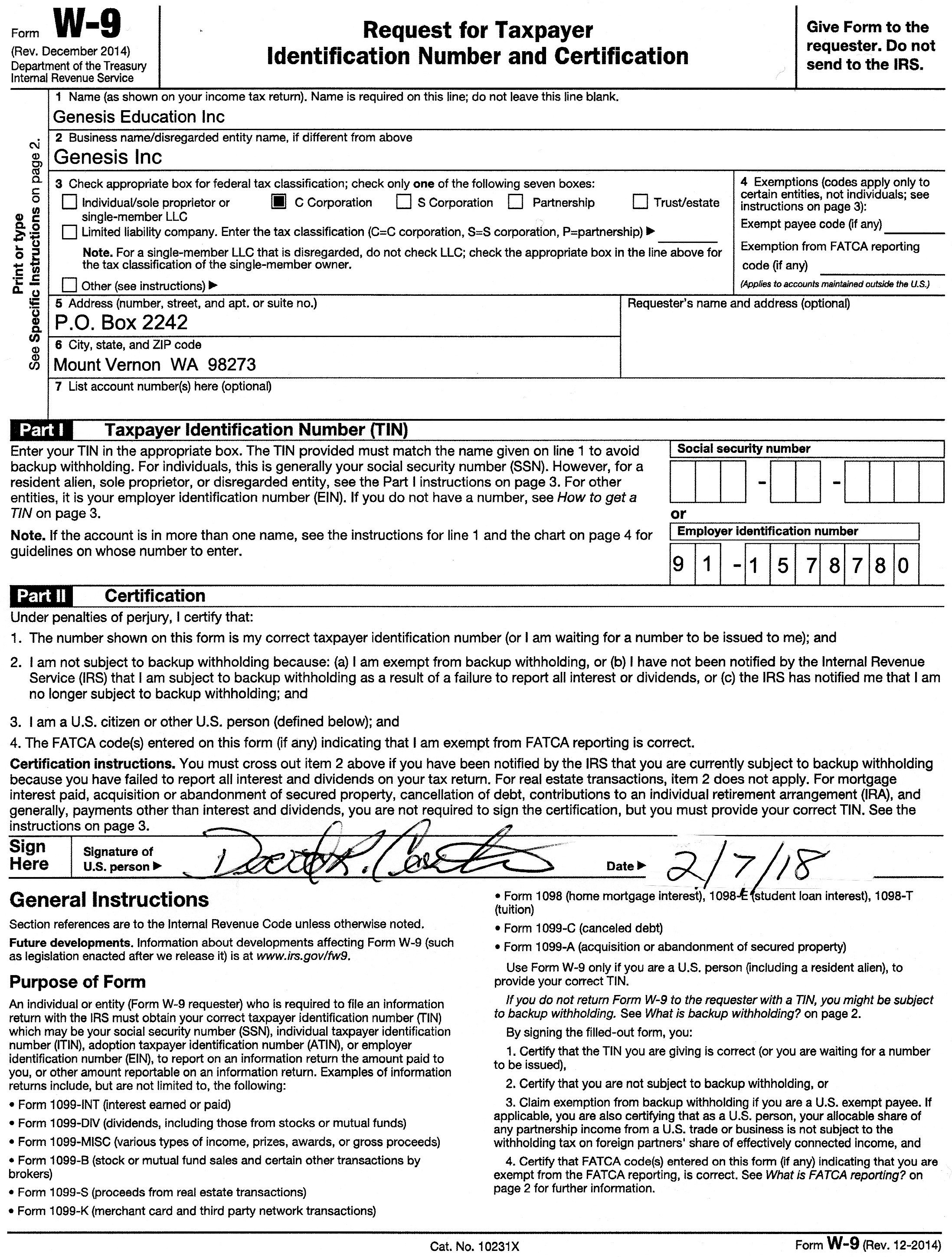 W 4 Tax Form Virginia 8 Purpose Allowances 9 Or 8Ben In-Blank W-9 Form 2020 Printable
