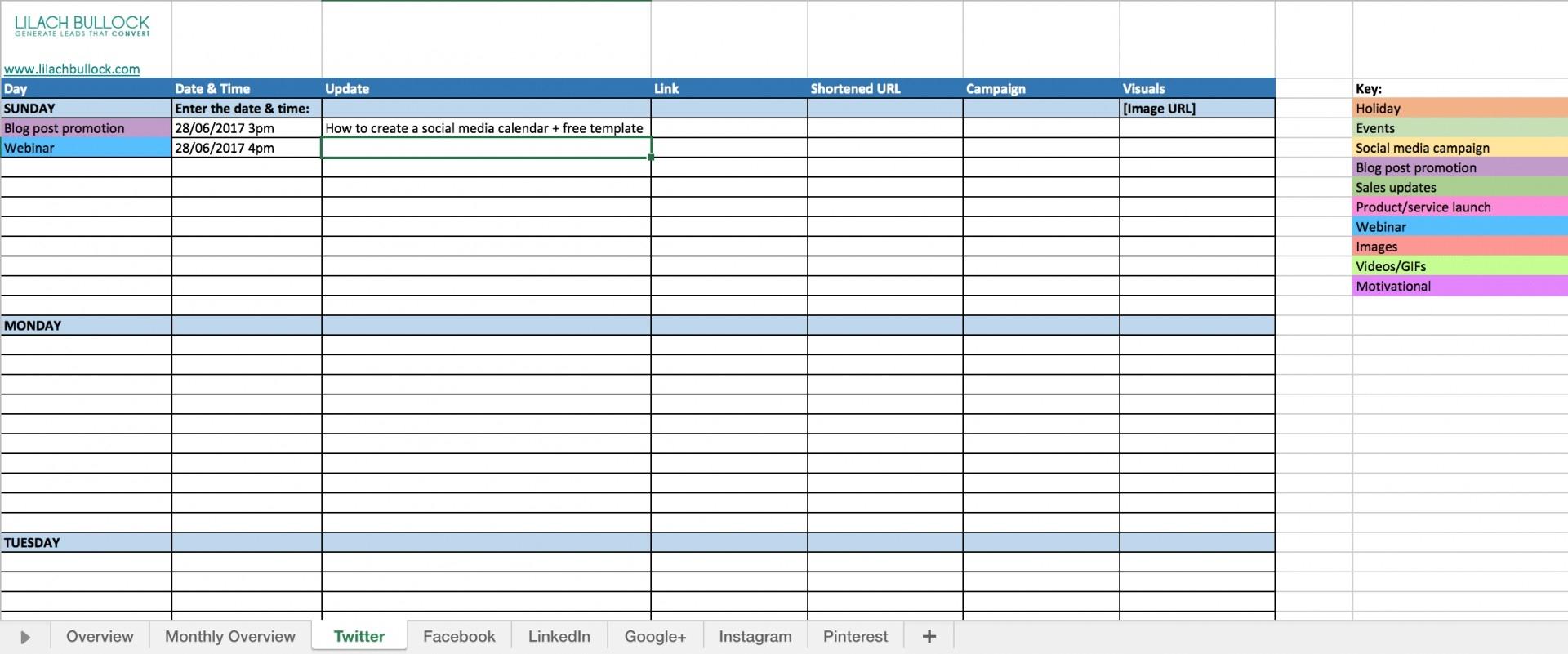020 Social Media Marketing Calendar Content Template Amazing-Blog Post Schedule Template 2020