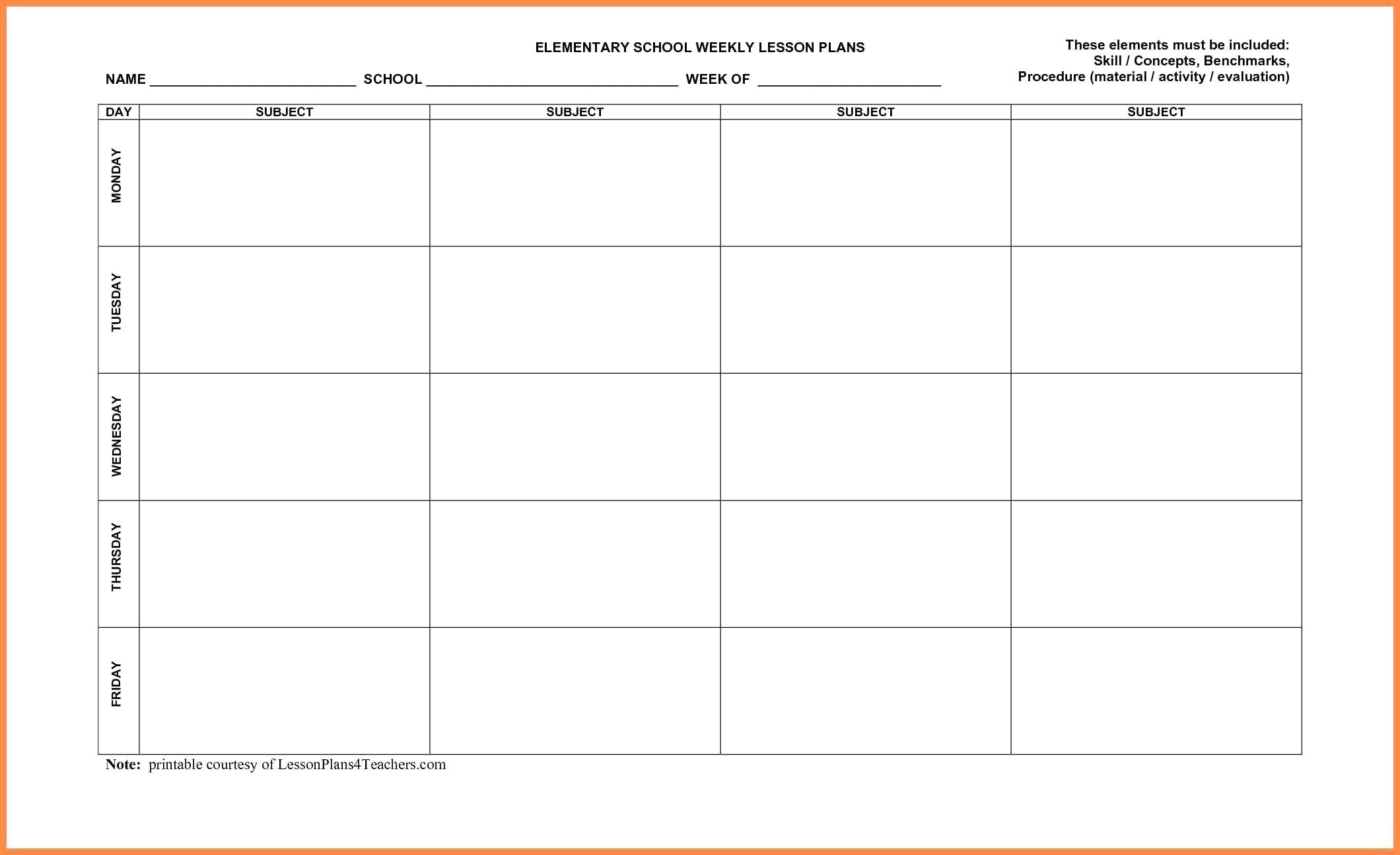 029 Template Ideas Plan Templates Free Lesson Plans-Calendar Lesson Plan Template