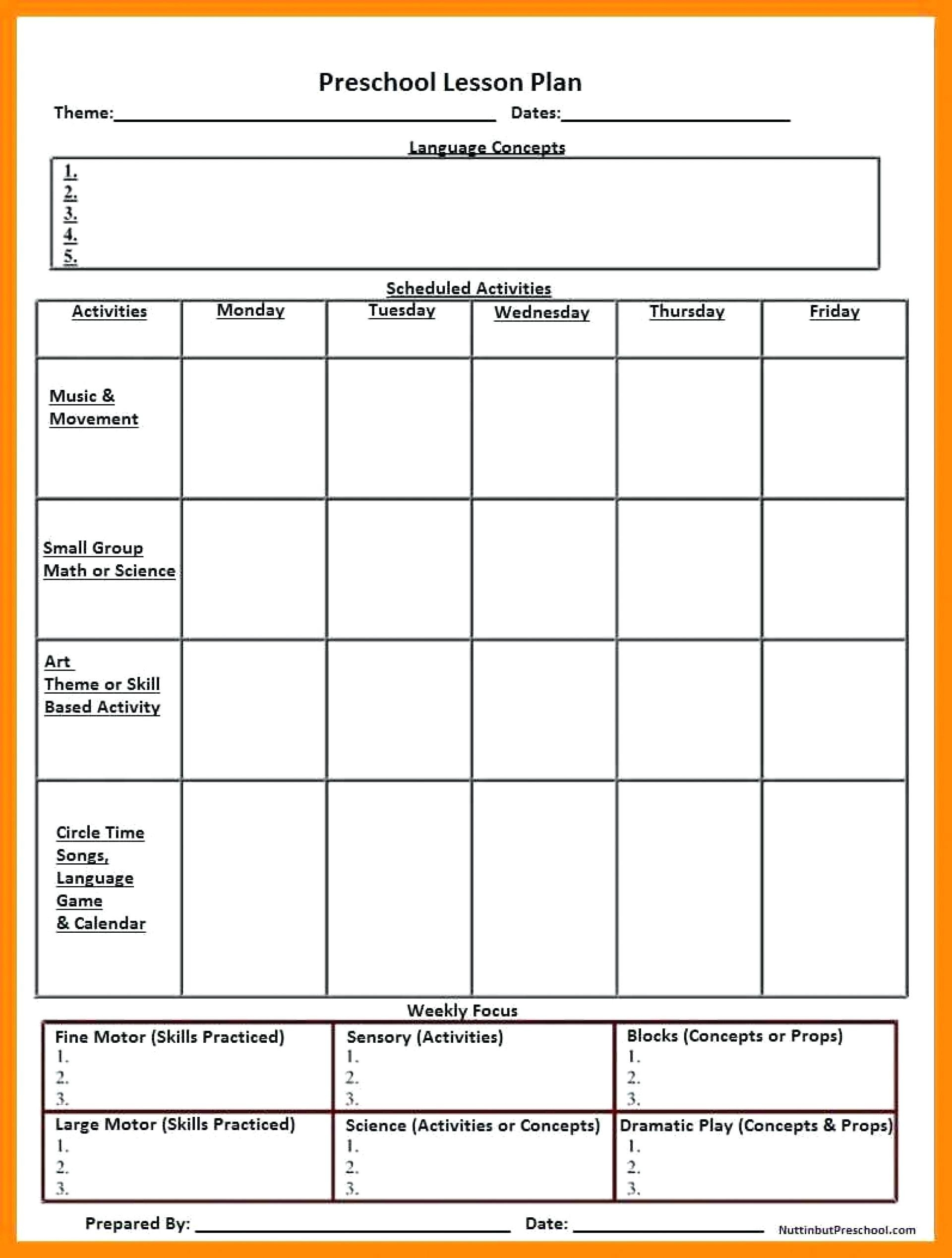 030 Template Ideas Lesson Plans For Preschool Free Printable-Printable Template Childcare Lesson Plan 2020