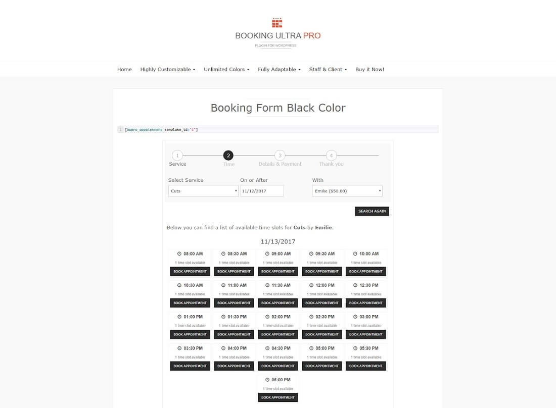 19 Best Free WordPress Booking Plugins 2019 - Colorlib-Free Reservation Calendar Template