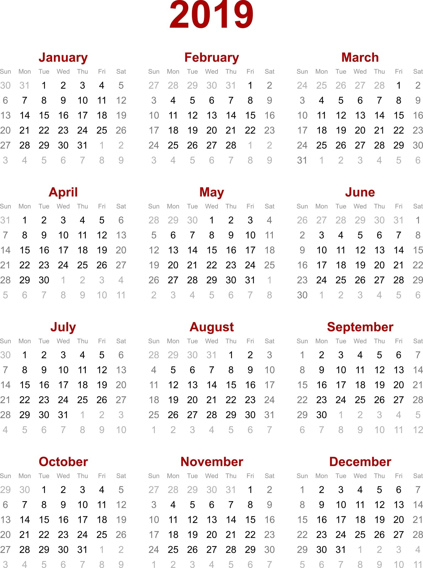 2019 Calendar Hong Kong – Calendar Printable Week-2020 Calendar Hong Kong Public Holidays