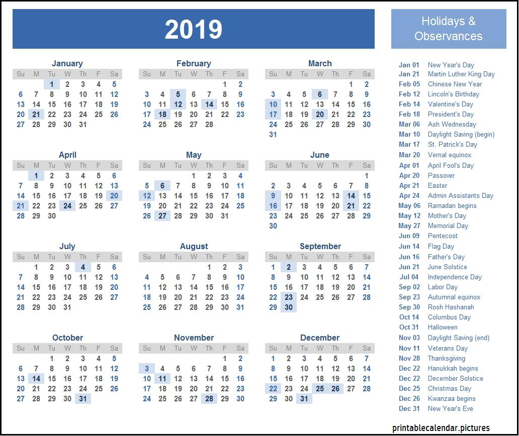 2019 Calendar With School Holidays-2020 Printable Qld School Holidays