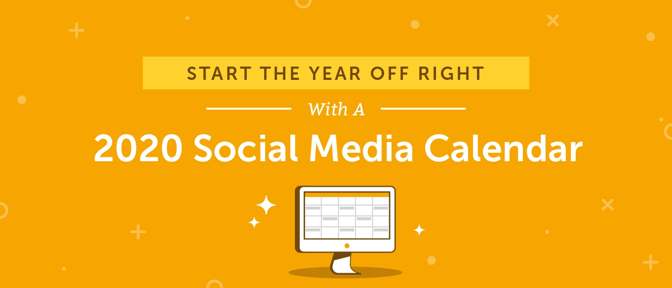2020 Social Media Content Calendar: How To Easily Plan Every-2020 Monday To Friday Schedule Template