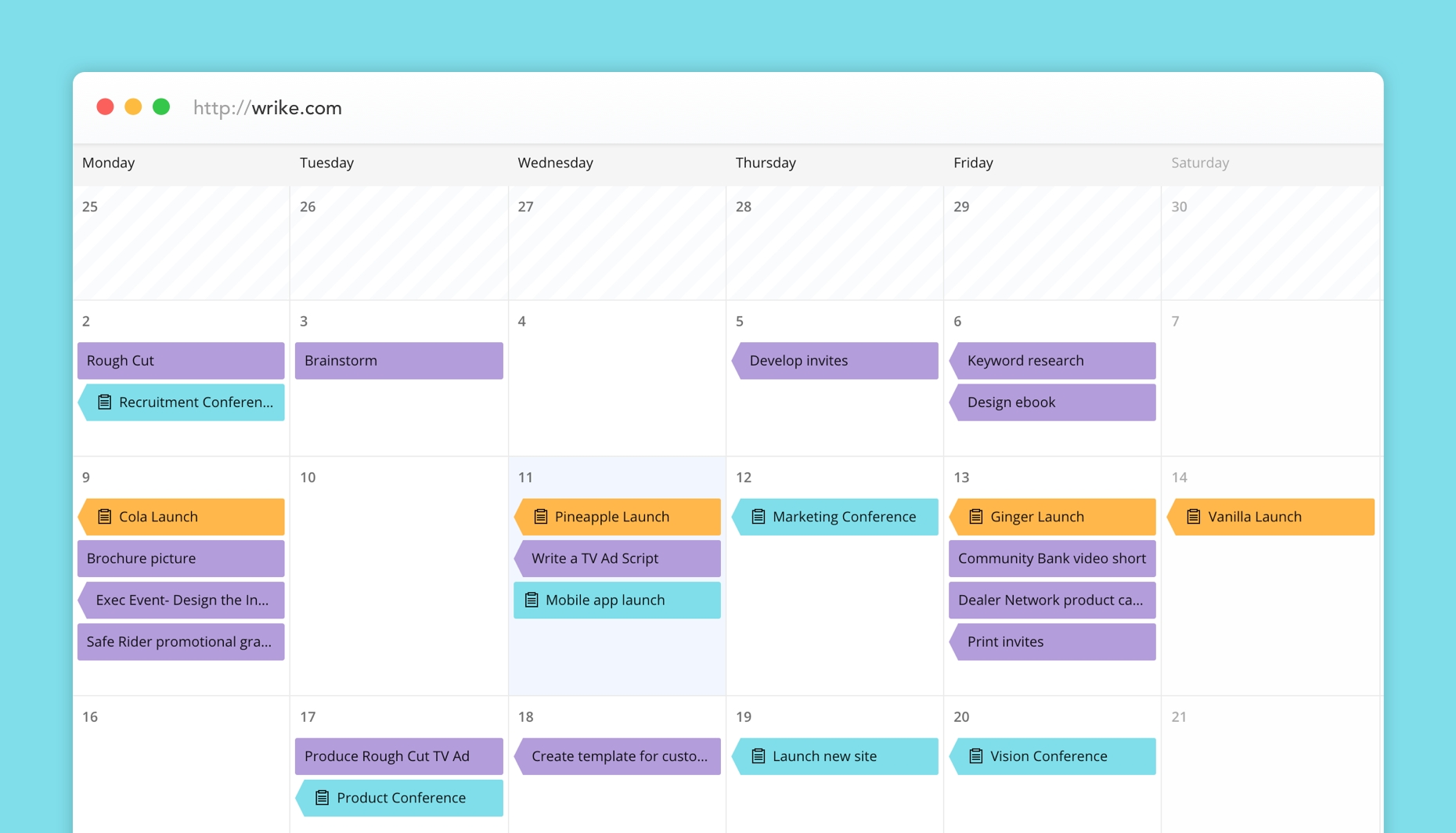 3 Ways To Create Your Project Manager Calendar-Blank Calendar Printable Three Months Togather