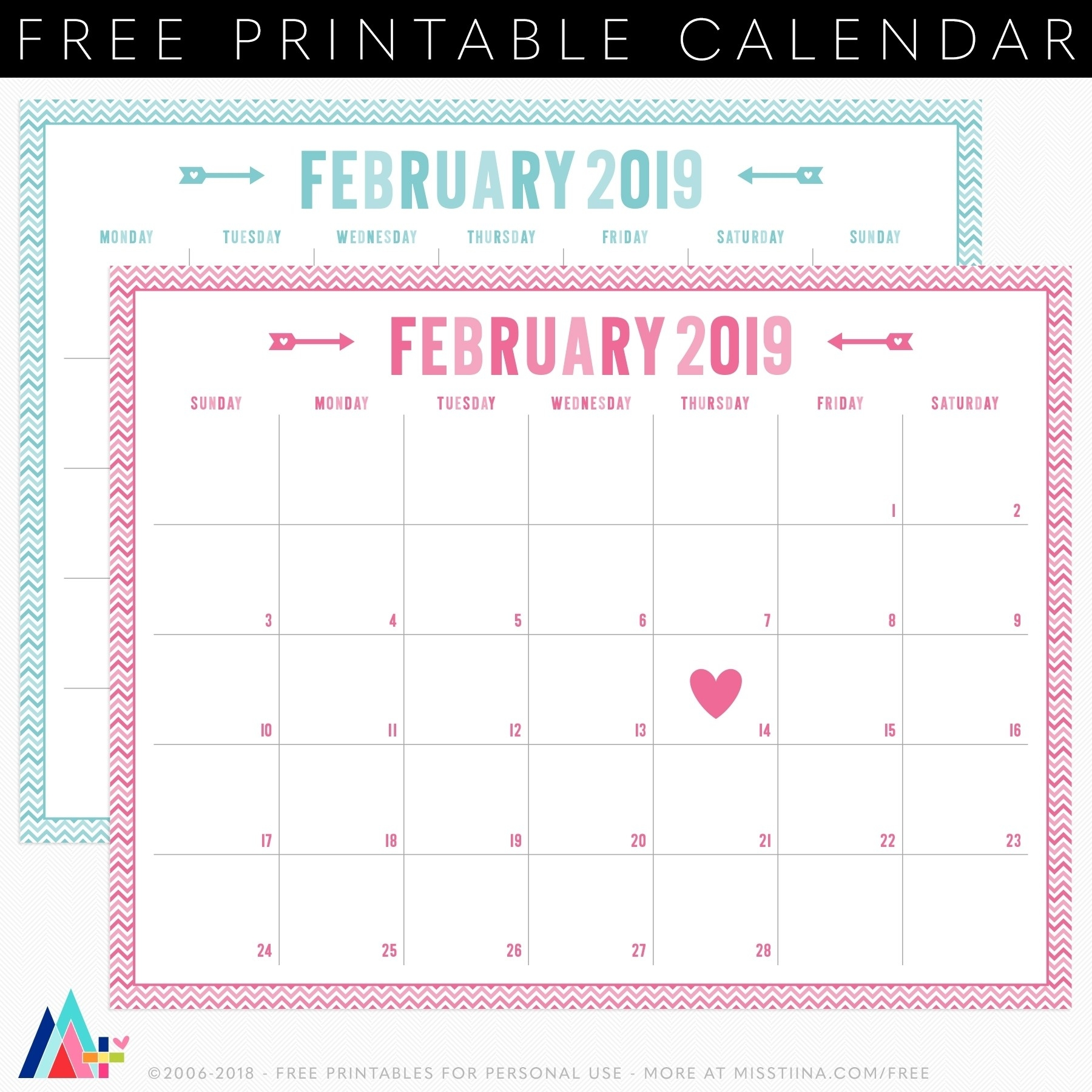 4X6 Monthly Printable Planner Calendar | Monthly Free-4X6 Monthly Printable Planner Calendar