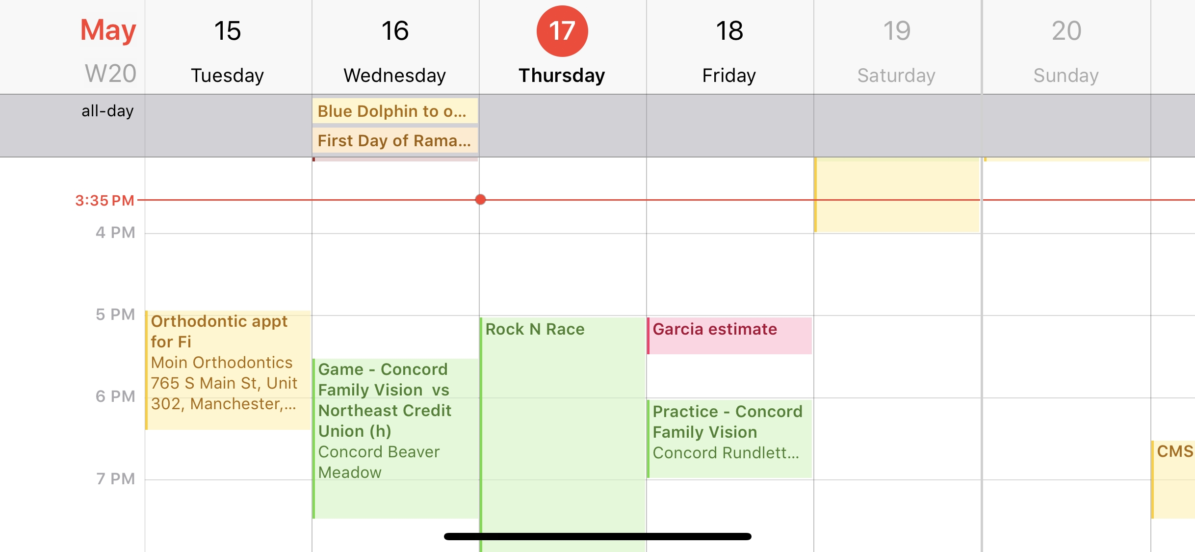 7 Iphone Calendar Tips Everyone Should Know - Cnet-Monthly View Iphone Calendar