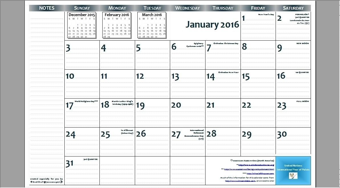 8.5 X 14 Calendar Template • Printable Blank Calendar-8.5 X 14 Calendar Template