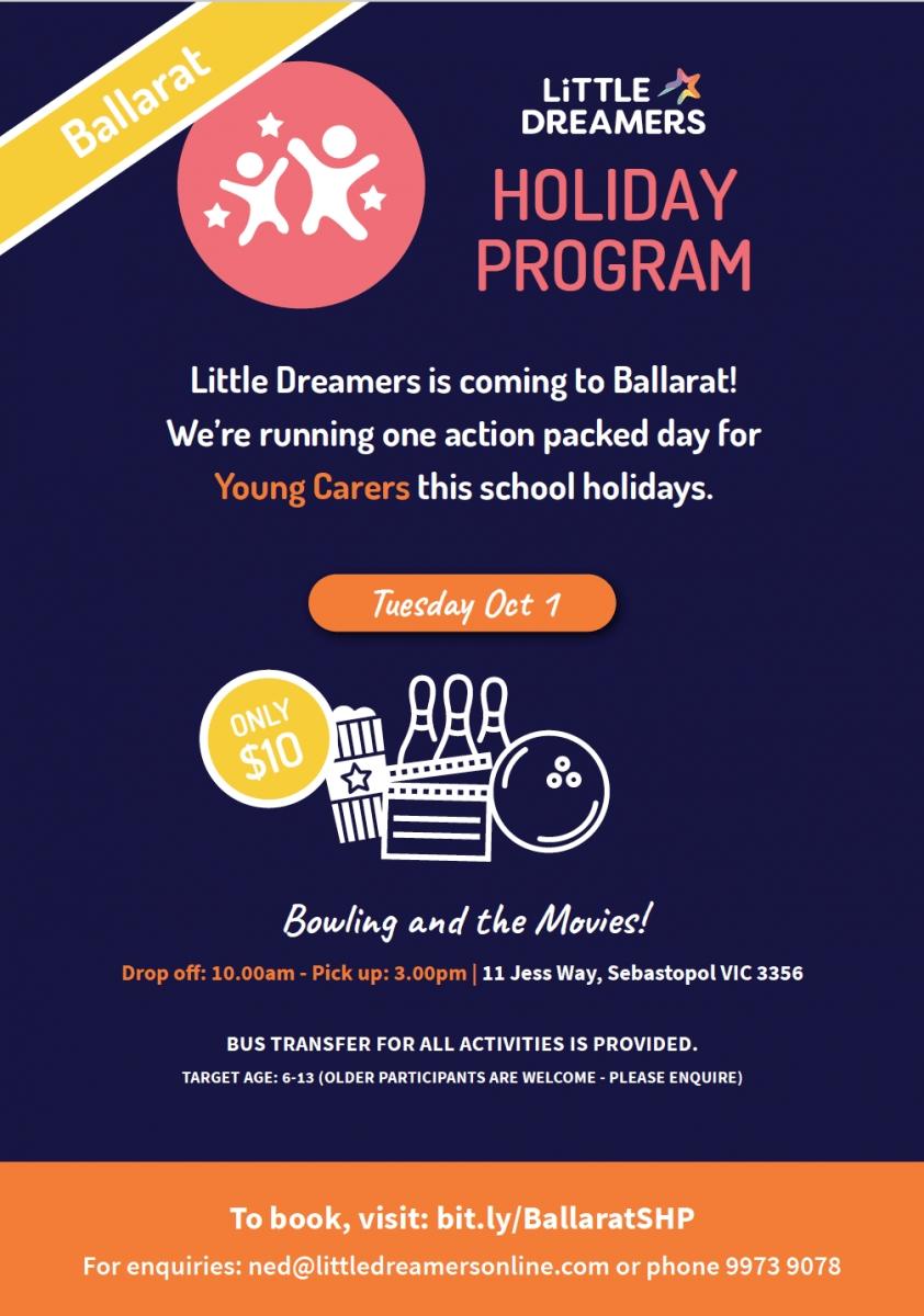 Ballarat Holiday Program - Little Dreamers Australia-Lowther Hall School Holidays