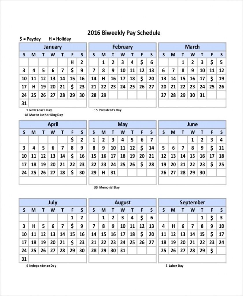 Biweekly Pay Periods 2020 | Payroll Calendars-Bi Week Friday Payroll Schedule 2020 Template