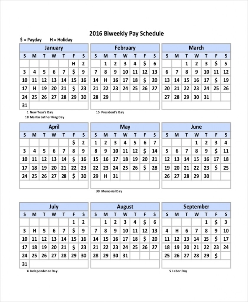 Biweekly Pay Periods 2020 | Payroll Calendars-Biweekly Payroll Calendar 2020 Template