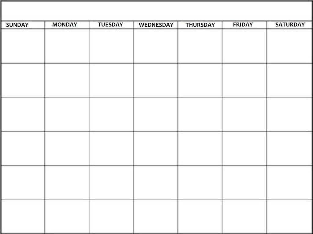 Blank Calendar - Calendar-Kart-Blank Calendar Template Starting With Monday