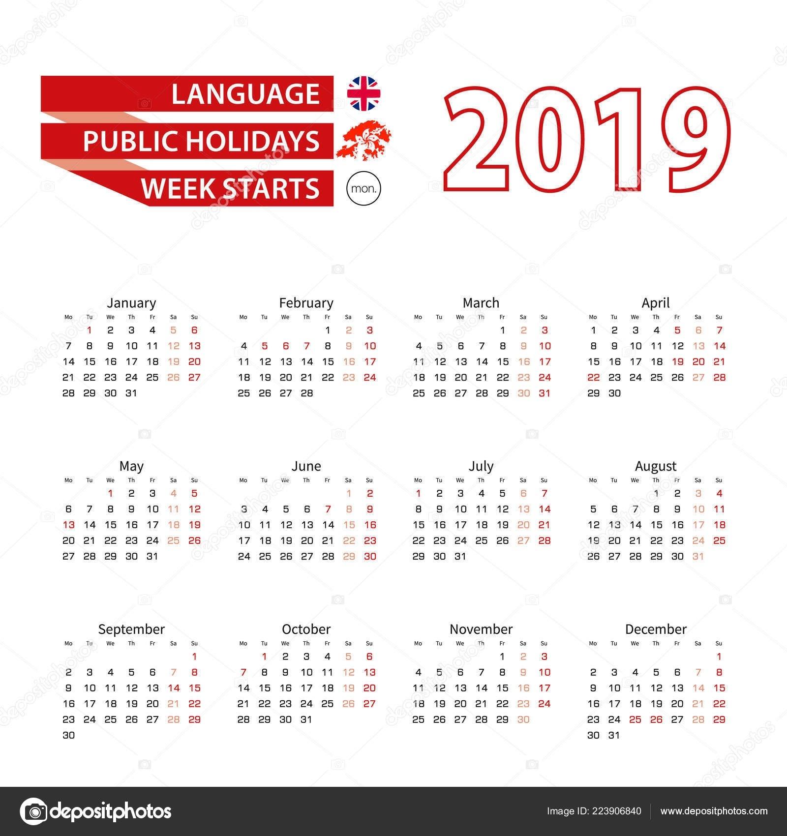 Calendar 2019 English Language Public Holidays Country Hong-2020 Calendar Hong Kong Public Holidays