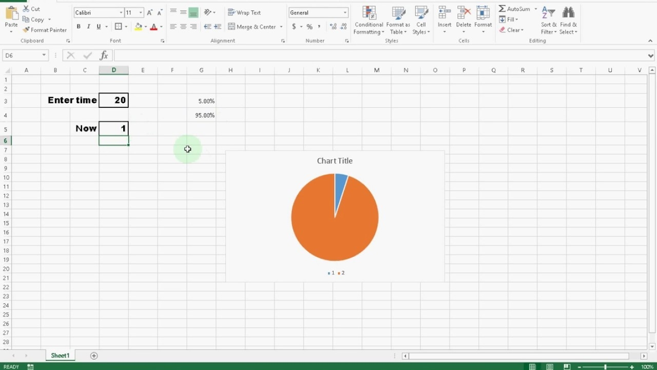 Create A Awesome Countdown Timer Clock In Microsoft Excel #itfriend #diy-Excel Template Countdown Calendar